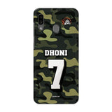 Official Chennai Super Kings Dhoni Camouflage Galaxy A30 3D Case