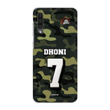 Official Chennai Super Kings Dhoni Camouflage Galaxy A50 3D Case