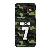 Official Chennai Super Kings Dhoni Camouflage Galaxy A6 3D Case