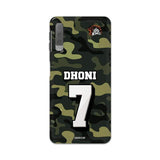 Official Chennai Super Kings Dhoni Camouflage Galaxy A7 2018 3D Case