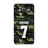 Official Chennai Super Kings Dhoni Camouflage Galaxy A7 3D Case