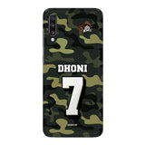 Official Chennai Super Kings Dhoni Camouflage Galaxy A70 3D Case