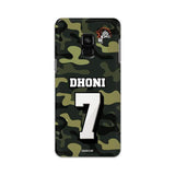 Official Chennai Super Kings Dhoni Camouflage Galaxy A8 2018 3D Case