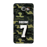 Samsung Phone Case Default Official Chennai Super Kings Dhoni Camouflage Galaxy A9 3D Case