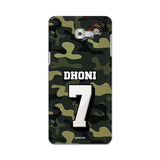 Official Chennai Super Kings Dhoni Camouflage Galaxy C9 Pro 3D Case