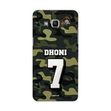 Official Chennai Super Kings Dhoni Camouflage Galaxy J2 3D Case