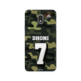 Official Chennai Super Kings Dhoni Camouflage Galaxy J4 3D Case