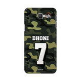 Samsung Phone Case Default Official Chennai Super Kings Dhoni Camouflage Galaxy J5 Prime 3D Case
