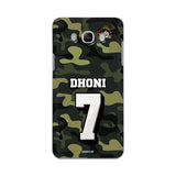 Official Chennai Super Kings Dhoni Camouflage Galaxy J7 2016 3D Case