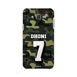 Official Chennai Super Kings Dhoni Camouflage Galaxy J7 3D Case