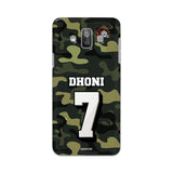 Official Chennai Super Kings Dhoni Camouflage Galaxy J7 Duos 3D Case