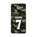 Official Chennai Super Kings Dhoni Camouflage Galaxy J7 Max 3D Case