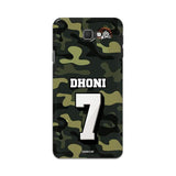 Samsung Phone Case Default Official Chennai Super Kings Dhoni Camouflage Galaxy J7 Prime 3D Case