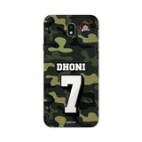 Official Chennai Super Kings Dhoni Camouflage Galaxy J7 Pro 3D Case