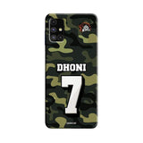 Samsung Phone Case Default Official Chennai Super Kings Dhoni Camouflage Galaxy M 51 3D Case