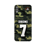 Samsung Phone Case Default Official Chennai Super Kings Dhoni Camouflage Galaxy M10 3D Case