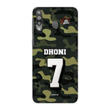 Samsung Phone Case Default Official Chennai Super Kings Dhoni Camouflage Galaxy M30 3D Case