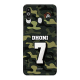 Official Chennai Super Kings Dhoni Camouflage Galaxy M40 3D Case
