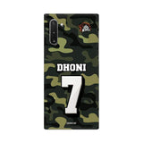 Samsung Phone Case Default Official Chennai Super Kings Dhoni Camouflage Galaxy Note 10 3D Case
