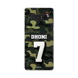 Official Chennai Super Kings Dhoni Camouflage Galaxy Note 5 3D Case