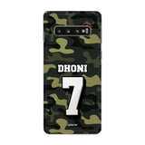 Official Chennai Super Kings Dhoni Camouflage Galaxy S10 3D Case