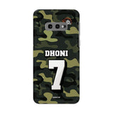 Official Chennai Super Kings Dhoni Camouflage Galaxy S10E 3D Case