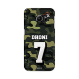 Official Chennai Super Kings Dhoni Camouflage Galaxy S6 Edge 3D Case
