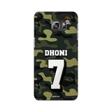 Samsung Phone Case Default Official Chennai Super Kings Dhoni Camouflage Galaxy S6 Edge Plus 3D Case