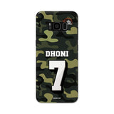 Official Chennai Super Kings Dhoni Camouflage Galaxy S8 3D Case