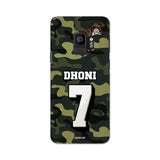 Official Chennai Super Kings Dhoni Camouflage Galaxy S9 3D Case