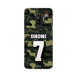 Official Chennai Super Kings Dhoni Camouflage Galaxy S9 Plus 3D Case