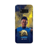 Samsung Phone Case Default Official Chennai Super Kings Dhoni Paint Sports Galaxy S8 Plus 3D Case