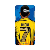 Samsung Phone Case Default Official Chennai Super Kings Dhoni Yellove Galaxy C9 Pro 3D Case