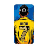Official Chennai Super Kings Dhoni Yellove Galaxy J2 3D Case
