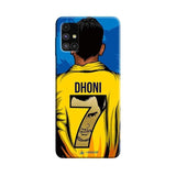 Samsung Phone Case Default Official Chennai Super Kings Dhoni Yellove Galaxy M 51 3D Case