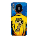Samsung Phone Case Default Official Chennai Super Kings Dhoni Yellove Galaxy M30 3D Case