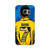 Samsung Phone Case Default Official Chennai Super Kings Dhoni Yellove Galaxy S7 3D Case