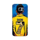 Official Chennai Super Kings Dhoni Yellove Galaxy S7 Edge 3D Case