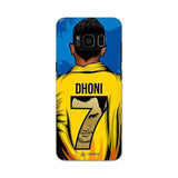 Samsung Phone Case Default Official Chennai Super Kings Dhoni Yellove Galaxy S8 Plus 3D Case