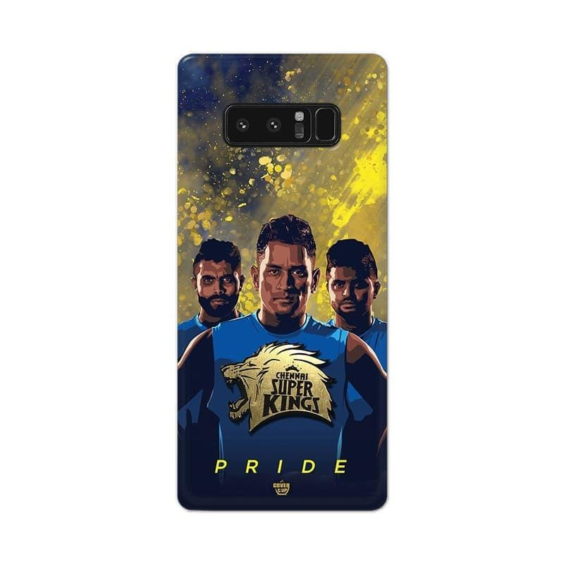 Samsung Phone Case Official Chennai Super Kings Pride Galaxy Note 8 3D Case