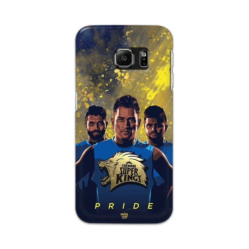 Samsung Phone Case Official Chennai Super Kings Pride Galaxy S6 Edge 3D Case