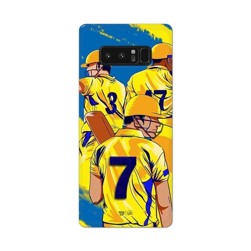 Samsung Phone Case Official Chennai Super Kings Seven Galaxy Note 8 3D Case