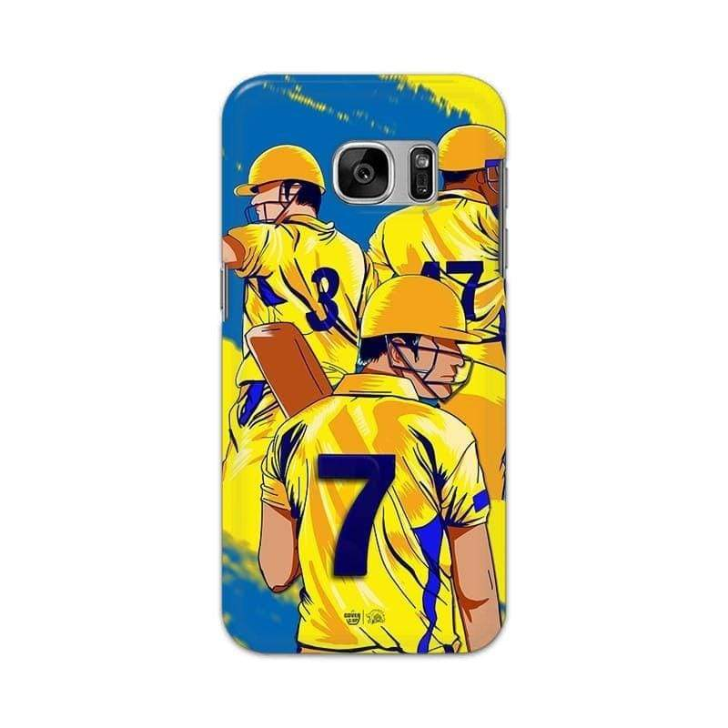 Samsung Phone Case Official Chennai Super Kings Seven Galaxy S7 3D Case