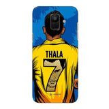 Samsung Phone Case Default Official Chennai Super Kings Thala 7 2020 Galaxy A6 3D Case