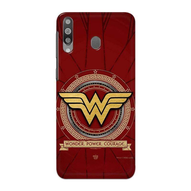 Samsung Phone Case Official DC Comics Wonder Woman Logo Galaxy M30 3D Case