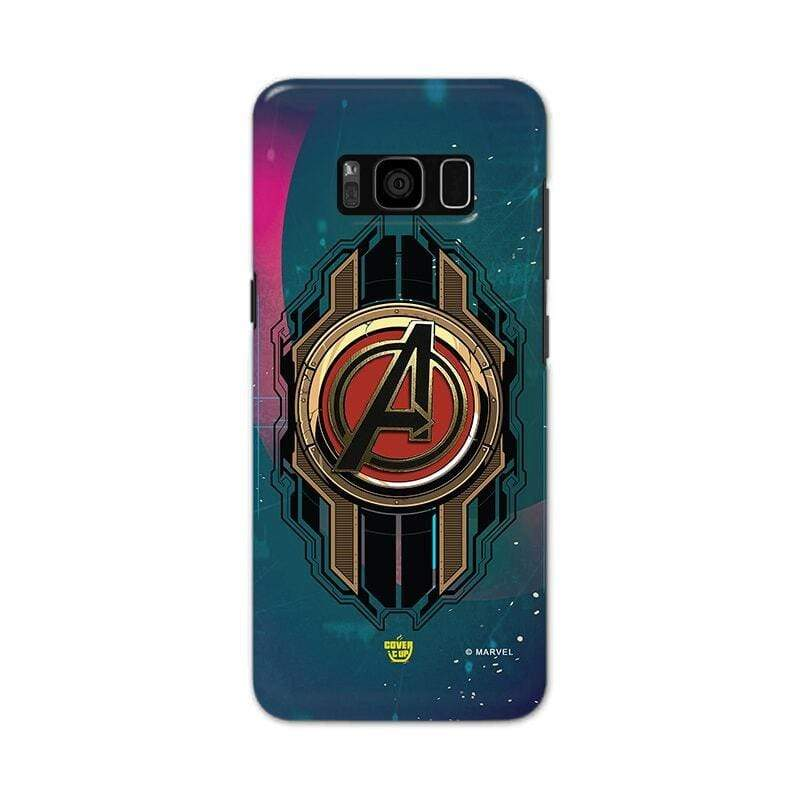 Samsung Phone Case Official Marvel Avengers Logo Galaxy S8 Plus 3D Case
