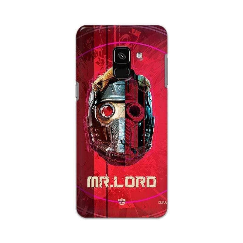 Samsung Phone Case Official Marvel Avengers Star Lord Galaxy A8 2018 Hard Case