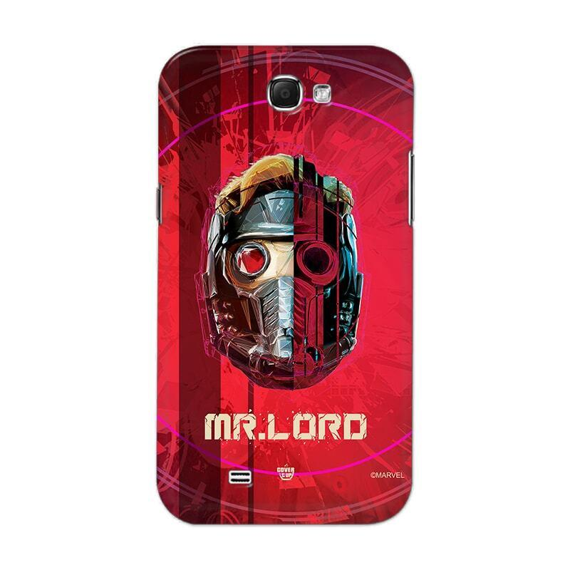 Samsung Phone Case Official Marvel Avengers Star Lord Galaxy Note 2 N7100 Hard Case