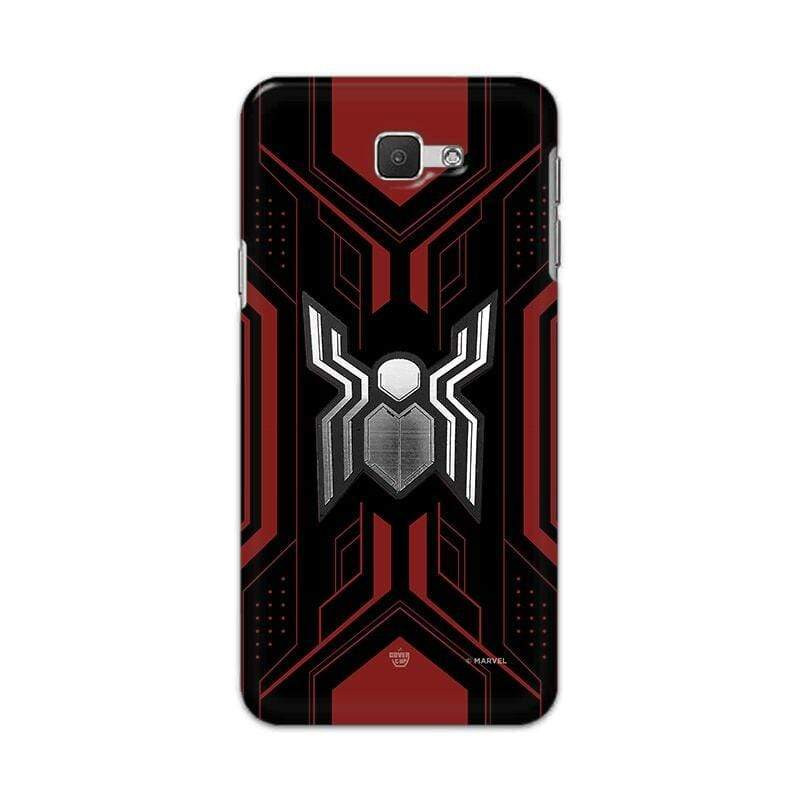 Samsung Phone Case Official Marvel Spider-Man Advanced Logo Galaxy J5 Prime 3D Case