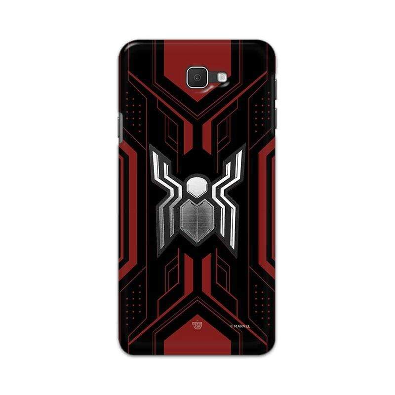 Samsung Phone Case Official Marvel Spider-Man Advanced Logo Galaxy J7 Prime 3D Case